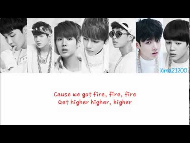 BTS (방탄소년단) - Rise of Bangtan (진격의 방탄) [Hangul/Romanization/English] Color & Picture Coded HD