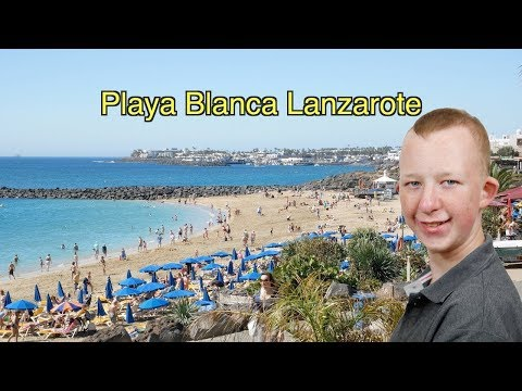 MY SUMMER HOLIDAY - PART 2 (HOLIDAY TO LANZAROTE)