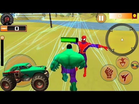 ► Super Monster Hero City Rescue Battle Games - Superhero Car Transportation Android Gameplay Mp3