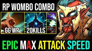 Max Attack Speed [Troll Warlord] Ultimate Combo With Magnus RP 20Kills 7.19 | Dota 2 Highlights