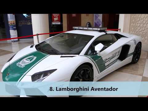 Top 10 World Best Super cars is in United Arab Emirates to Dubai Police