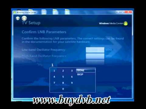 How To Use TBS5922 To Watch Satellite TV On Windows Media Center?