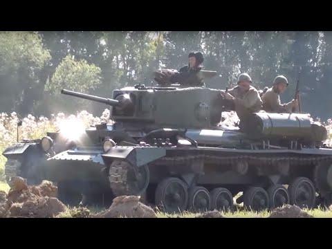 """танки Mk III """"Валентайн"""" и M3 """"Стюарт""""  (""""Поле Боя"""" 2015)"""