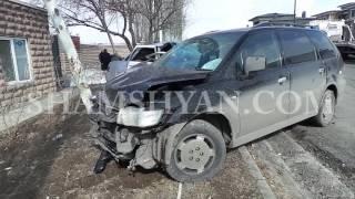 Խոշոր ավտովթար Կոտայքի մարզում  բախվել են 63 ամյա վարորդի Lada ն ու 43 ամյա վարորդի Mtsubishi ն