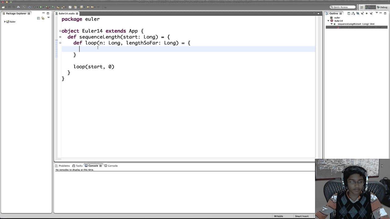 Project Euler using Scala: Problem 14 - YouTube