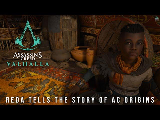 Assassin's Creed Valhalla: Reda Tells the Story of AC Origins