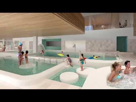 Simulatie nieuw zwembad