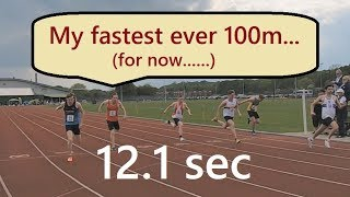 My Fastest 100m Race Yet | Close To 12 Seconds Vs Younger Athletes