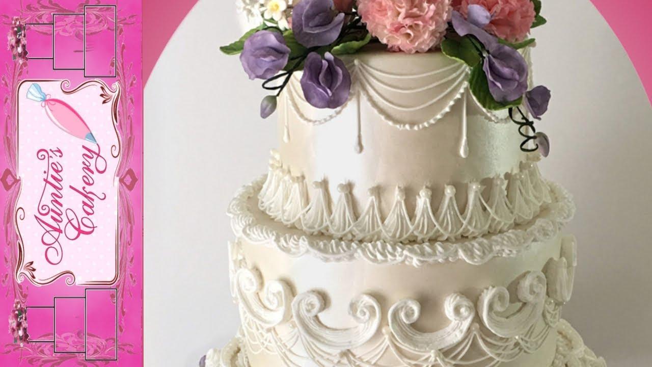 Spring Fl Wedding Cake Long Tutorial Lambeth Style