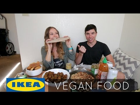 IKEA VEGAN FOOD MUKBANG