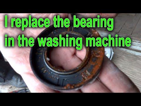 How to REPLACE WASHING MACHINE BEARINGS. Washing Machine LG