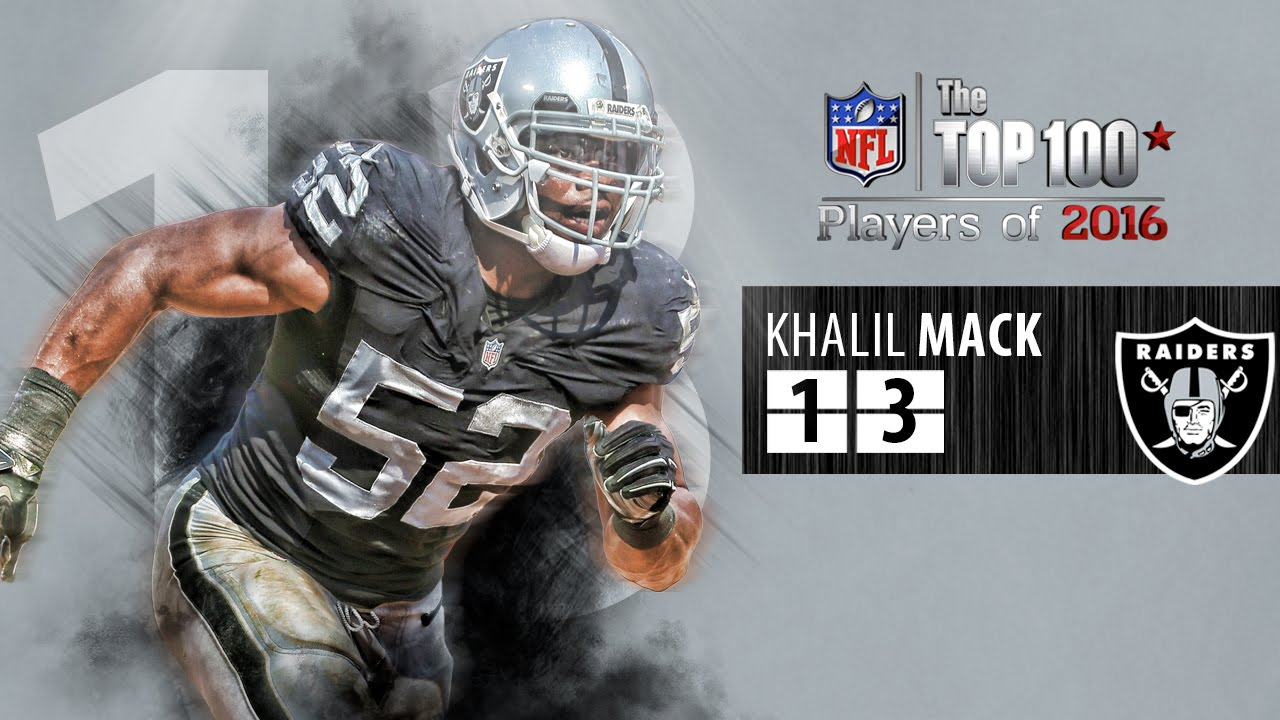 13 Khalil Mack DE Raiders