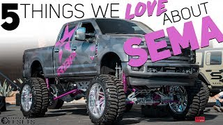 5 Things We LOVE About SEMA
