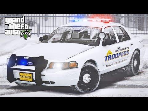 GTA 5 LSPDFR #357 - North Yankton Patrol thumbnail