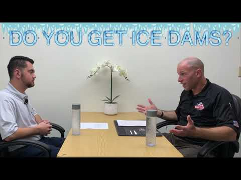 Ice Dams and What Causes Them