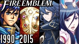 Fire Emblem ALL INTROS 1990-2015 (Wii U, 3DS, GBA, SNES, NES) - Blade of Light to Tensei Crossover