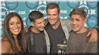 ENLISTED - Angelique Cabral, Parker Young, Geoff Stults & Chris Lowell Hilarious Interview!