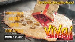 How to Cook Hot Cheetos Quesadilla, Cheese Shell Tacos & Mulitas @ Cilantro Lime with Barbara Isabel