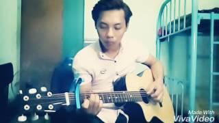 Đếm ngày xa em guitar cover by vinh râu 😂