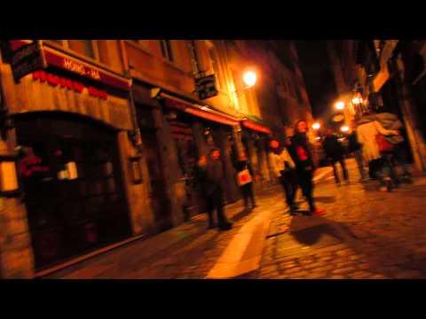 Vieux Lyon à 2h du matin