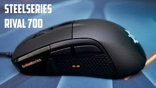 SteelSeries Rival 700 gaming mouse - PRIMA IMPRESIE