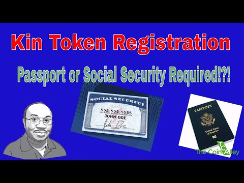 Kin Token Ico Wants Your Social Security Number Or Passport Data?!!?