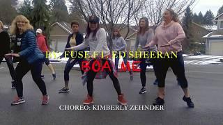 Boa Me by FUSE ft Ed Sheeran. (Afro dance). CHOREO: Kimberly Zehnder