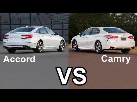 2018 Honda Accord Ground Clearance VS Toyota Camry