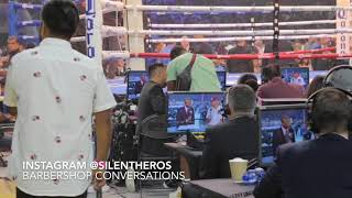 Bros from another Mother!Paulie pulls Broner in for some advice!