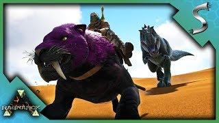 TEASING A GIGA & TAMING KIBBLE FARM CREATURES! - Ark: RAGNAROK [DLC Gameplay S3E18]