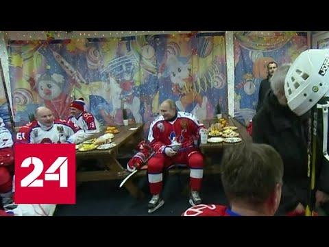 """НХЛ. """"Красные"""" победили на Красной площади - Россия 24"""