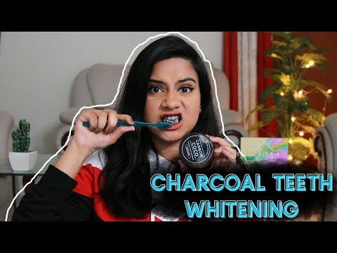 Get Instantly White Teeth At Home! Charcoal Teeth Whitening With Carbon Coco | Jadirah Sarmad