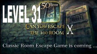 Can You Escape The 100 room X level 31 Walkthrough
