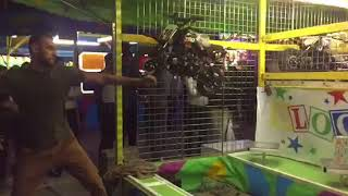 How to Win Impossible Carnival Game BlockBuster/One Ball at CNE to Win a Dirt Bike