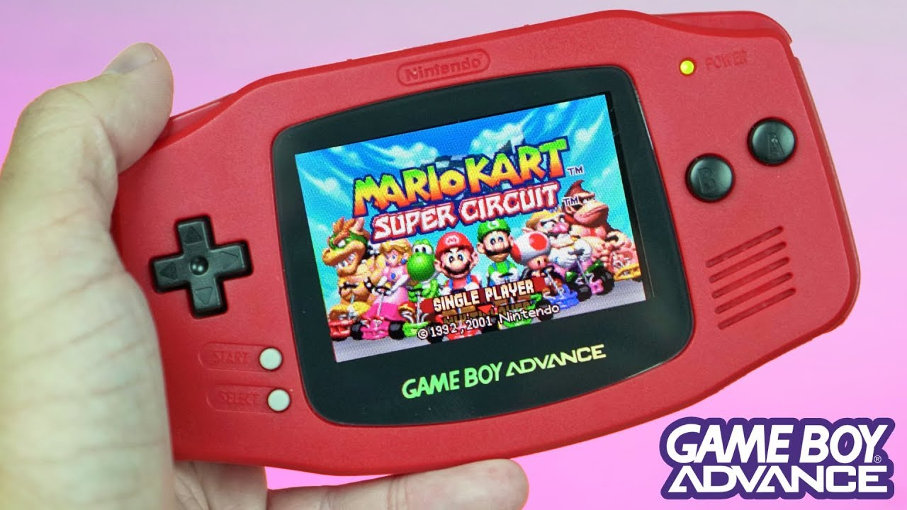 My CUSTOM Game Boy Advance Mod | The Red, Backlit Switch-Themed BEAUTY!