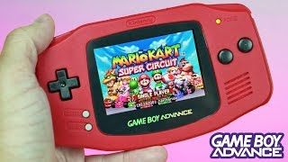 My CUSTOM Game Boy Advance Mod | The Red, Backlit Switch-Themed BEAUTY! thumbnail