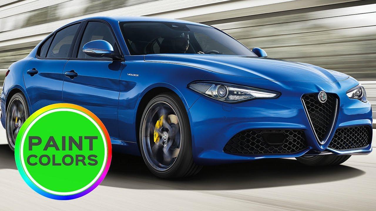 Alfa Romeo Giulia Colors Bluelily Co