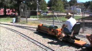 Trackside Footage of the Sacramento Valley Live Steamers
