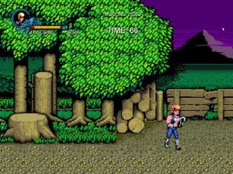 Double Dragon Trilogy (Part 1), playing just for fun. |