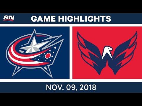 NHL Highlights | Blue Jackets vs. Capitals – Nov. 9, 2018