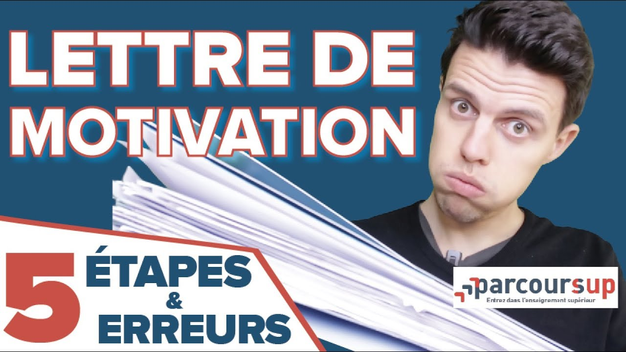 modele lettre de motivation parcoursup paces