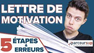 LETTRE DE MOTIVATION [JOB D'ÉTÉ & PARCOURSUP] : COMMENT SE DÉMARQUER ?!