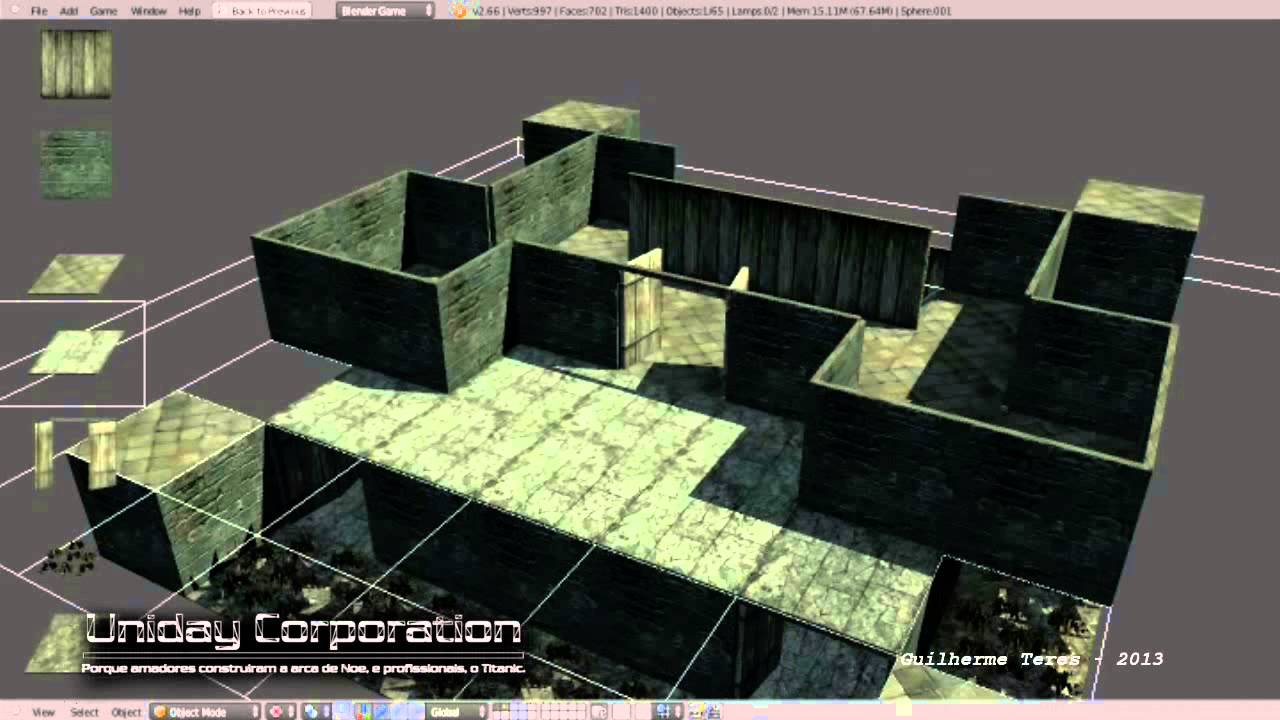 Level Editor 2.0 - Blender Game Engine - YouTube
