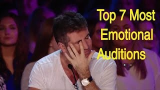 I bet you will cry - Top 7 most emotional auditions