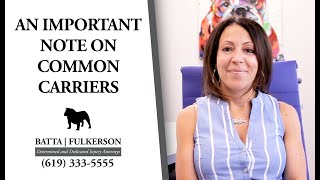Batta Fulkerson: What Are Common Carriers?