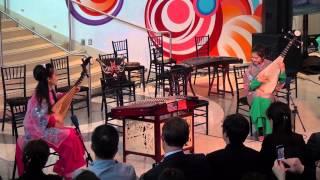 中国中央民族乐团访美首演