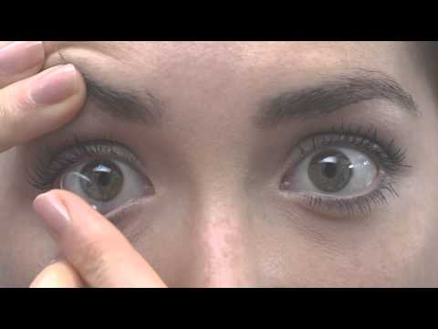 Comment mettre des lentilles de contact youtube - Comment mettre un enduit de lissage ...