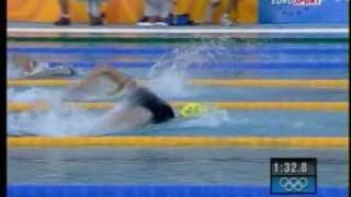 Final 200m Michael Phelps vs Ian Thorpe Olympic Games, Olimpiadas.