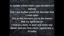 Dear Mom Marc Goone Lyrics HD