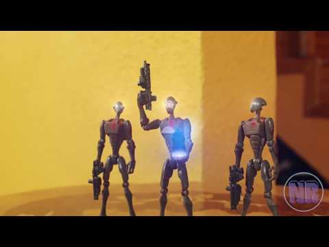 Star Wars Stop Motion Embo